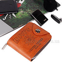 Мужское портмоне Fashion визитница коричневое 5422201, фото 1
