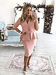 """Силуэтное платье с баской и воротом""""Идеальное"""", фото 5"""