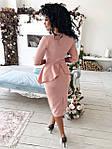 """Силуэтное платье с баской и воротом""""Идеальное"""", фото 8"""