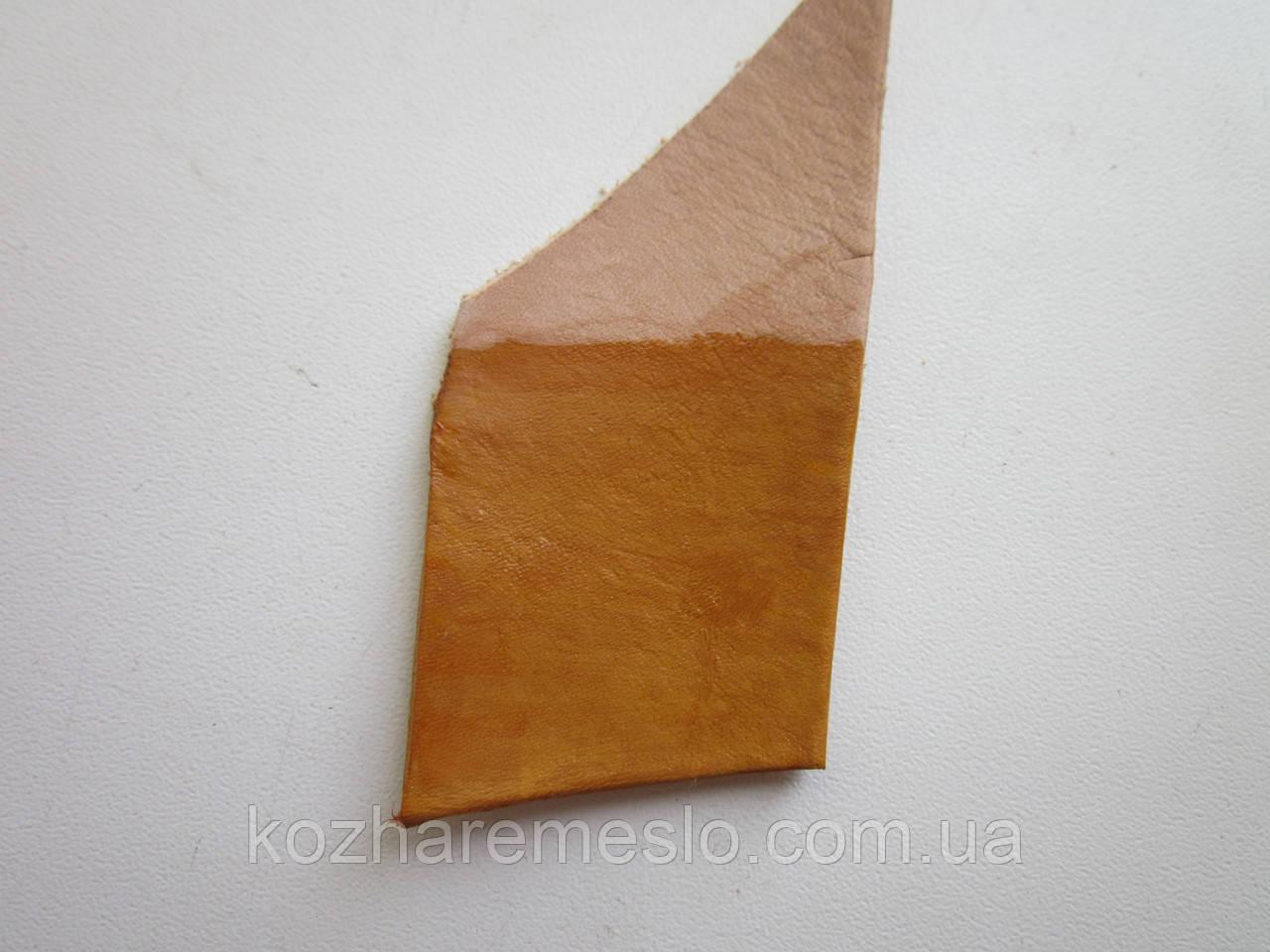 Краска для кожи WATERSTAIN Fenice на водной основе 100 мл светло - коричневая (Италия)