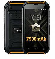 "Смартфон Geotel G1 2/16Gb Orange IP68, 2sim, 8/2Мп, 7500mAh, экран 5""IPS, GPS, 3G, 4 ядра, Android 7.0"