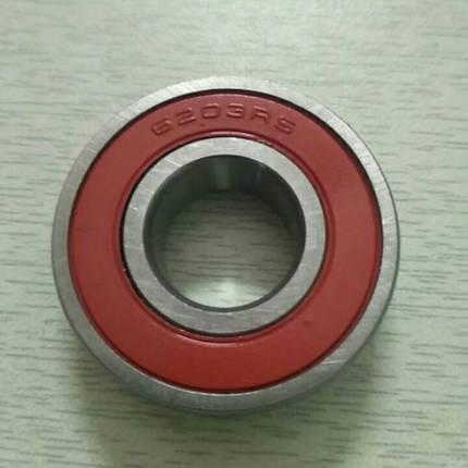Подшипник натяжных роликов 6203 мототрактора колесо 6.00-12, фото 2