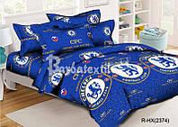 Подростковое постельное белье футбольный клуб Челси полуторное