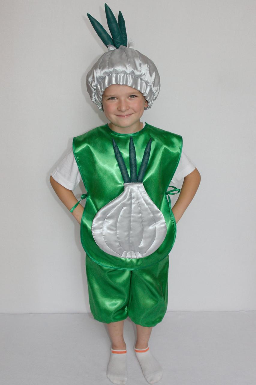 Маскарадный костюм Чеснока для мальчика на праздник осени 3-6 лет