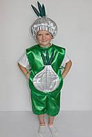 Маскарадный костюм Чеснока для мальчика на праздник осени 3-6 лет, фото 1