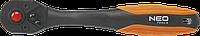 """Ключ-тріскачка Neo, вигнутий 1/2"""", 250 мм"""