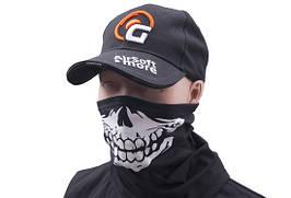 Pół kominiarka termoaktywna z nadrukiem - black [GFC Tactical] (для страйкбола)