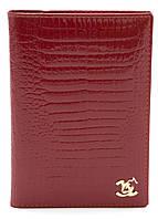 Красная лаковая стильная женская документница art. B9012, фото 1