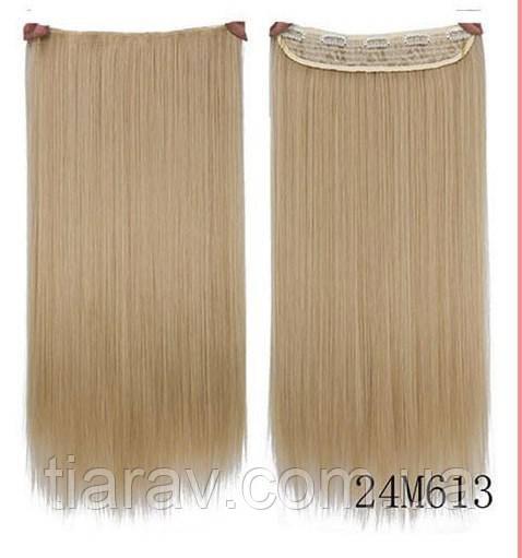 Волосы накладные на заколках 60 см, трессы, прядь накладная
