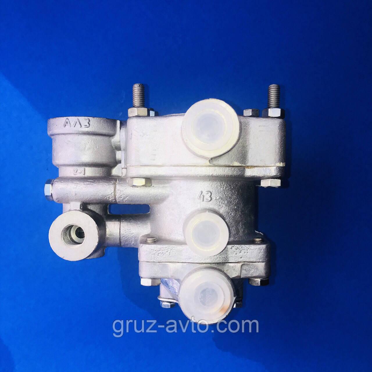 Кран управления тормозами прицепа с клапаном обрыва КАМАЗ Евро, 25.3522210 Рославль, фото 1