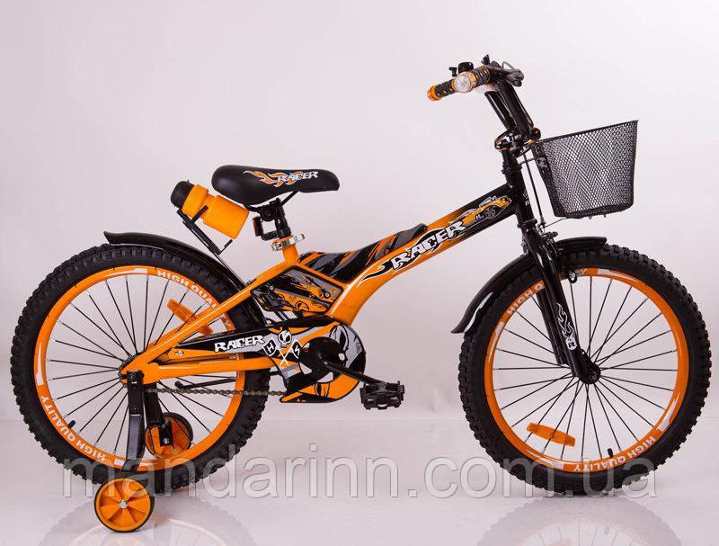"""Велосипед """"Racer-18"""" Orange, фото 1"""
