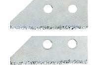 Запасні леза для скребка Topex для швів 16B471 2 шт.