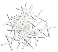 Хрестики дистанційні Topex 1,5 мм, 200 шт.*1 уп.