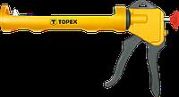 Пістолет для герметиків Topex, пластмасовий