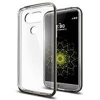 Чохол Spigen для LG G5 Neo Hybrid Crystal, Gunmetal, фото 1