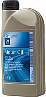 Моторное масло полусинтетическое 1 л. GENIUM GM Dexos 2 5/30