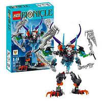 Конструктор KSZ 711-1 Бионикл Bionicle Стальной череп 249 деталей, фото 1