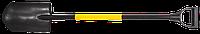 Лопата штикова Topex, металевий черенок, пластмасова рукоятка