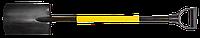 Лопата пряма Topex, металевий держак, пластмасова рукоятка