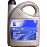 Моторное масло полусинтетическое 5 л. GENIUM GM Dexos 2 5/30