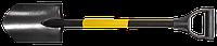 Лопата штикова Topex, металевий держак, пластмасова рукоятка