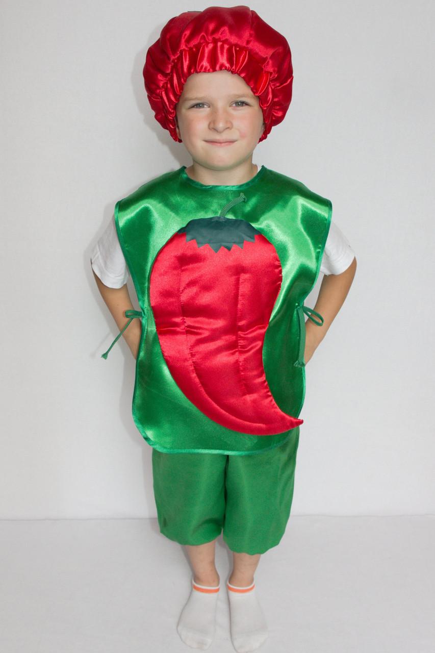 Маскарадный костюм мальчику Перец 3-6 лет