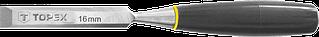 Стамеска Topex 6 мм, пластмасова ручка