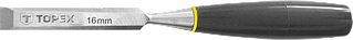 Стамеска Topex 14 мм, пластмасова ручка