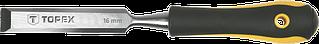 Стамеска Topex 10 мм, CrV, двокомпонентна рукоятка