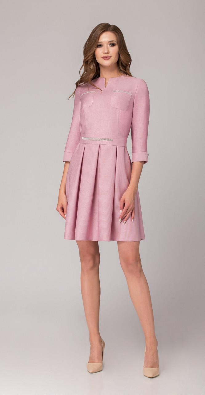 Платье Svetlana Style-1085 белорусский трикотаж, розовый, 42