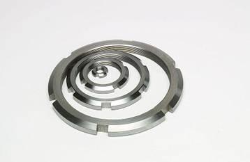 Гайка кругла шлицевая з нержавійки М95х2 DIN 981, ГОСТ 11871-88, фото 2