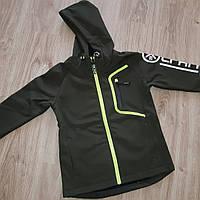 Спортивная куртка на флисе для мальчиков 8-16 лет