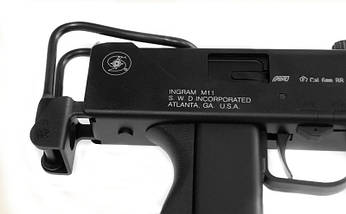 Пистолет-пулемет Ingram M11 (MAC-11) [ASG] (для страйкбола), фото 3
