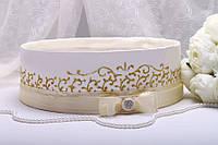 Свадебное сито Stile золото