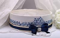 Свадебное сито Stella синее