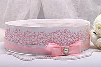 Свадебное сито Stile розовое