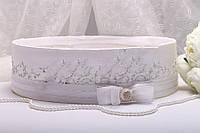 Свадебное сито Stile белое
