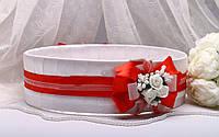 Свадебное сито Rose красное