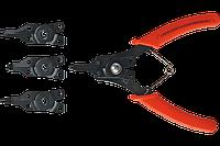 Щипці для сnопорних кілець Top Tools, 150 мм, набір 4 шт.