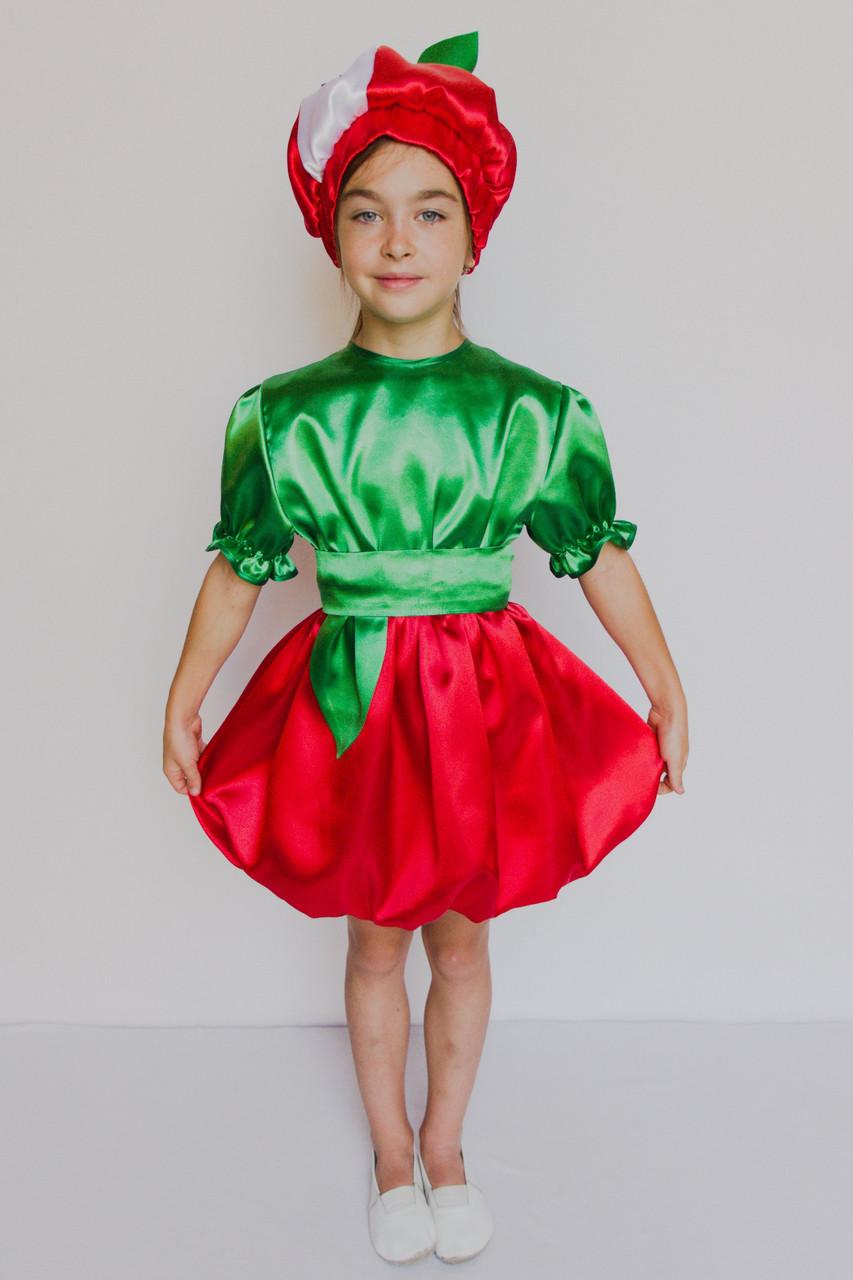 Маскарадный костюм для девочки Яблоко 3-6 лет