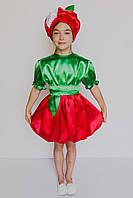 Маскарадный костюм для девочки Яблоко 3-6 лет, фото 1