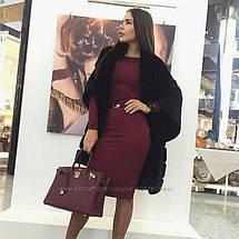 Универсальное платье миди Слива, фото 3