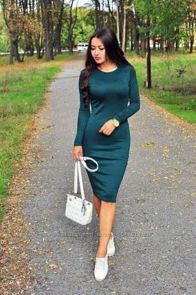 Универсальное платье миди Изумруд, фото 2