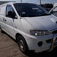 Дефлекторы окон (ветровики) Hyundai H-200 1997 - 2007 2шт (Heko)