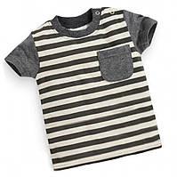 Детская футболка с полосками 7346115-1, код (39405) в наличии: 18M,2T,3T,4T,5T,6T