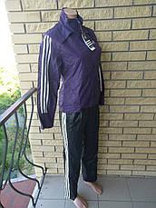Костюм спортивный женский плащевка с подкладкой реплика ADIDAS, фото 2