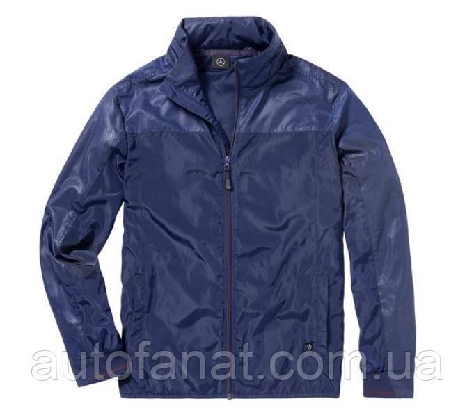 Оригинальная мужская куртка Mercedes Men's Wind Jacket, Navy (B66958576)
