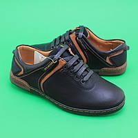 Туфли для мальчиков черные 3401A Tom.m размер 36,38,39,40,41