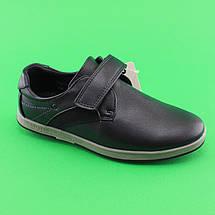 Туфли для мальчиков синие в школу 3827B Tom.m размер 35,36,37,38, фото 2