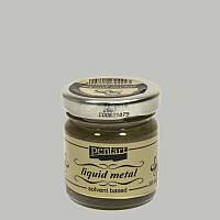 Краска жидкая поталь Pentart 30 мл Серебро (5997412794250)